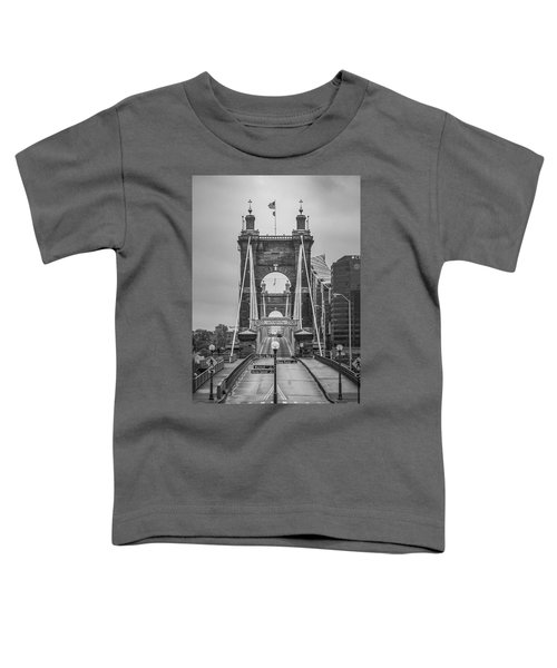 Roebling Bridge Toddler T-Shirt