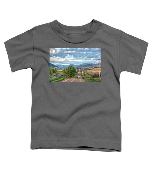 Rollercoaster Country Road Toddler T-Shirt