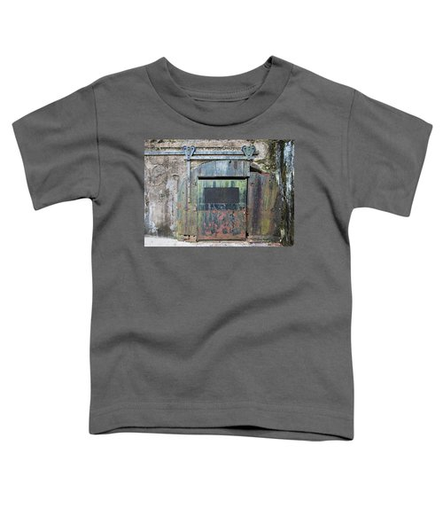 Rolling Door To The Bunker Toddler T-Shirt