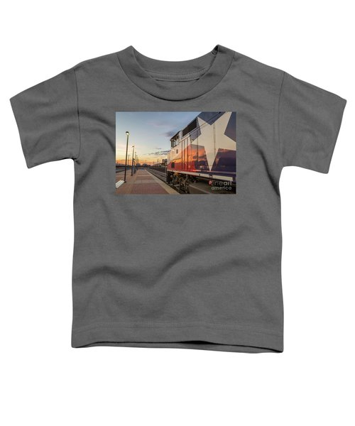 Rolling Into The Sunset Toddler T-Shirt