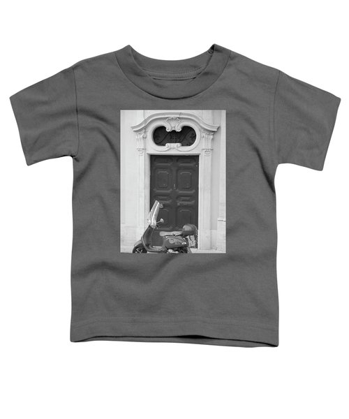 Roma Vespa And Door  Toddler T-Shirt