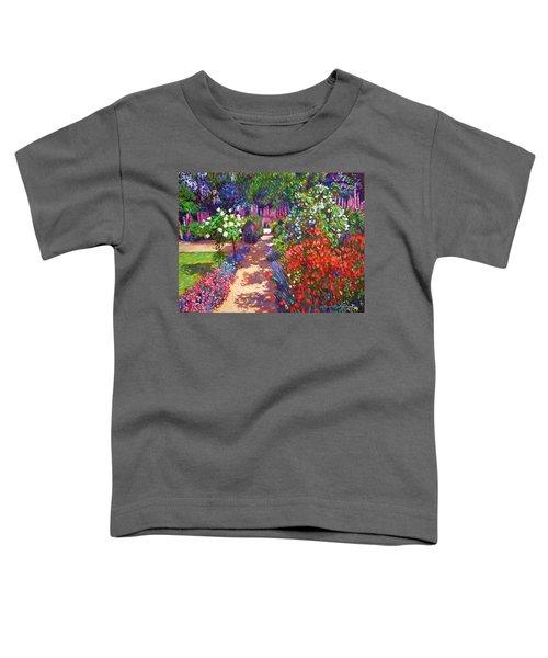 Romantic Garden Walk Toddler T-Shirt