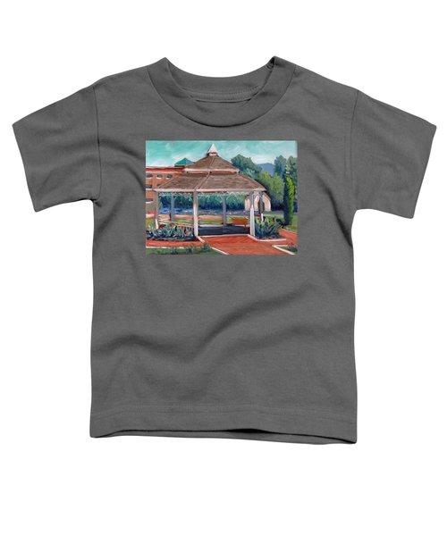 Rose Garden Gazebo Toddler T-Shirt