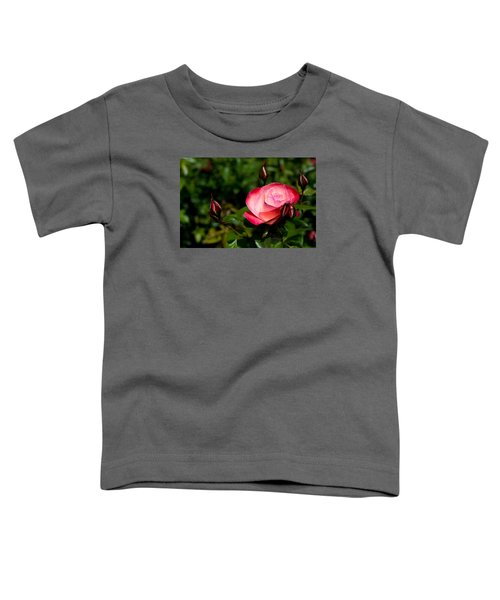 Toddler T-Shirt featuring the photograph Rose by Lora Lee Chapman
