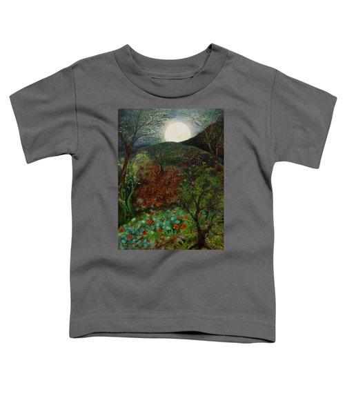 Rose Moon Toddler T-Shirt