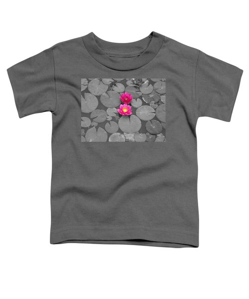 Rose Of The Water Toddler T-Shirt