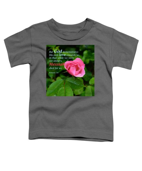 No Greater Love Toddler T-Shirt
