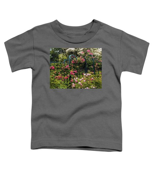 Rose Trellis Toddler T-Shirt