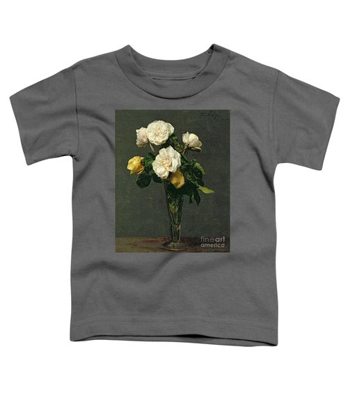 Roses In A Champagne Flute Toddler T-Shirt