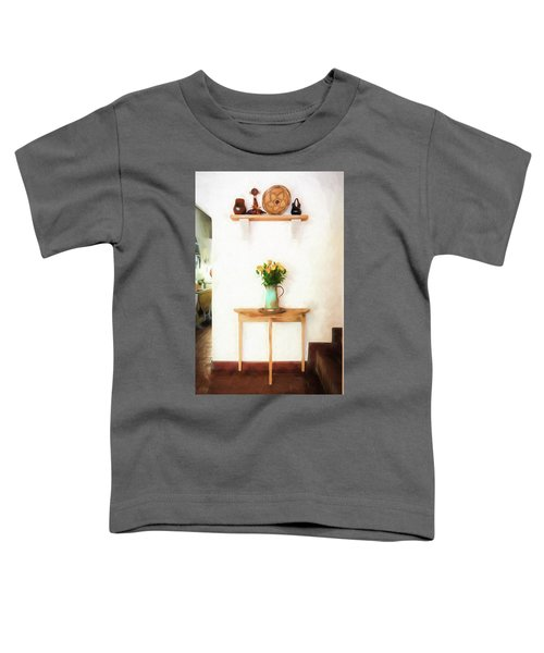 Rose's On Table Toddler T-Shirt