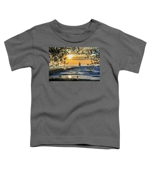 Toddler T-Shirt featuring the photograph Rough Opening by Bill Pevlor