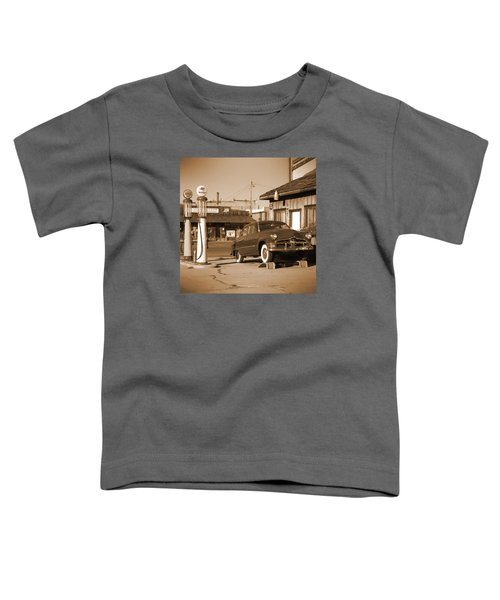 Route 66 - Old Service Station Toddler T-Shirt