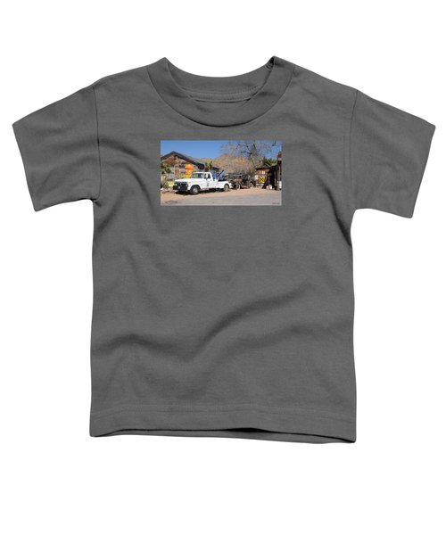 Route 66 Old Shell Service Station Toddler T-Shirt