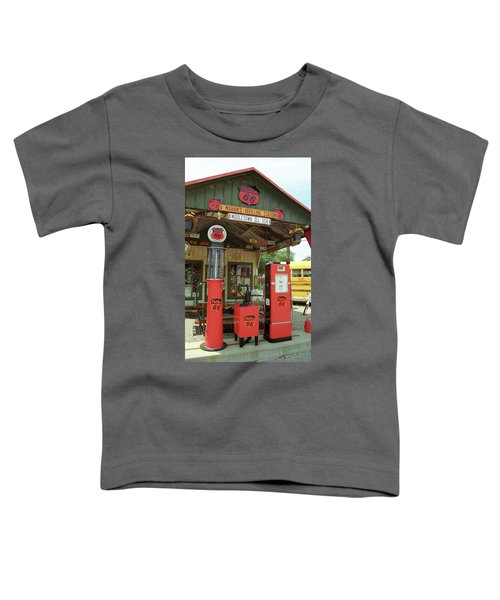 Route 66 - Shea's Gas Station Toddler T-Shirt