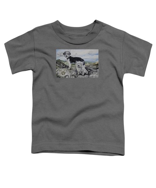Roxie And Skye Toddler T-Shirt