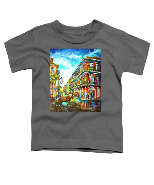 Royal Carriage - New Orleans French Quarter Toddler T-Shirt