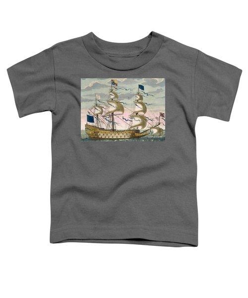 Royal Flagship Of The English Fleet Toddler T-Shirt
