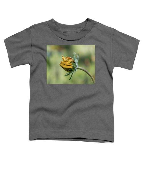 Rudbeckia Fuzzy Bud Toddler T-Shirt
