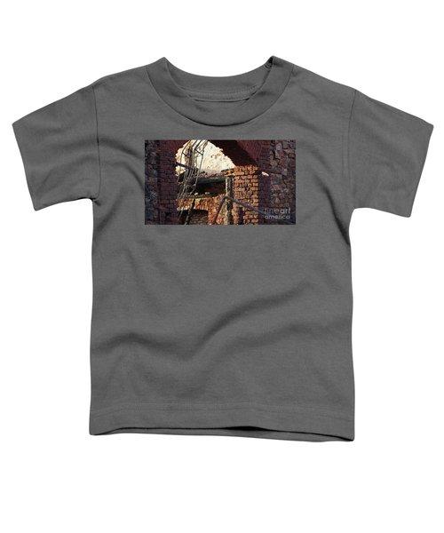 Ruin After Big Fire  Toddler T-Shirt