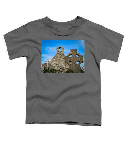 Toddler T-Shirt featuring the photograph Ruins At 12th Century Killone Abbey by James Truett