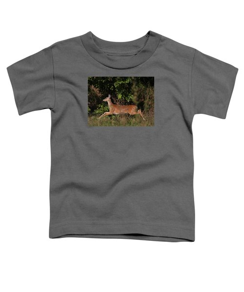 Running Deer Toddler T-Shirt