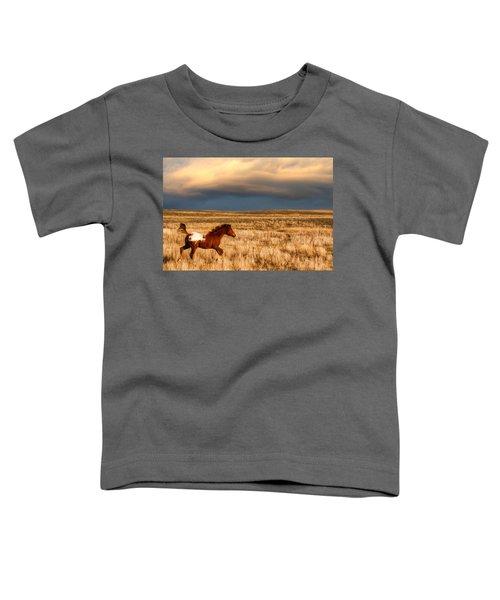 Running Free Toddler T-Shirt