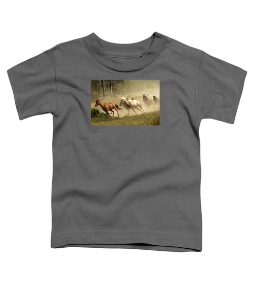 Running Horses Toddler T-Shirt