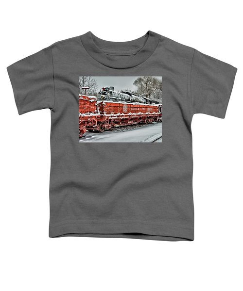 Running Out Of Steam Toddler T-Shirt