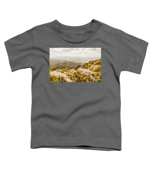Rural Town Valley Toddler T-Shirt