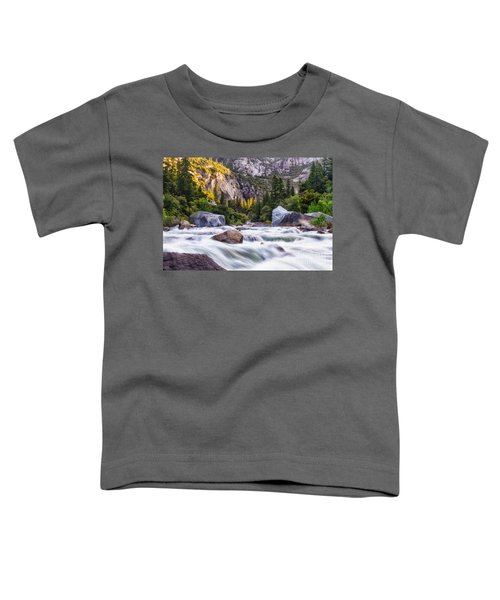 Rush Of The Merced Toddler T-Shirt