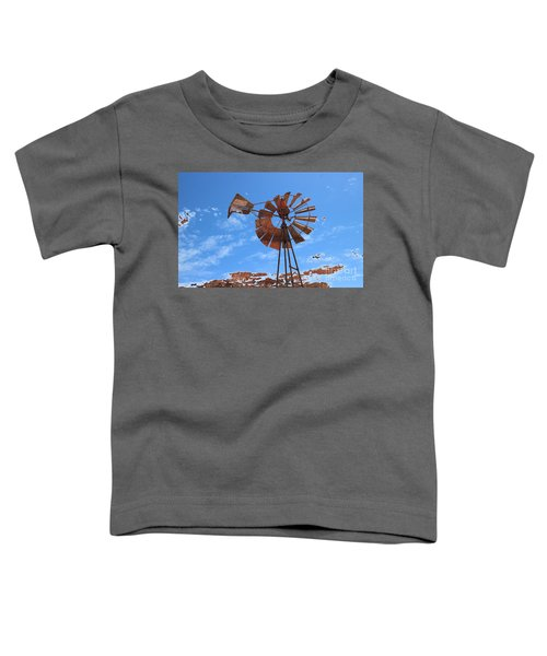 Toddler T-Shirt featuring the photograph Rust Age by Stephen Mitchell