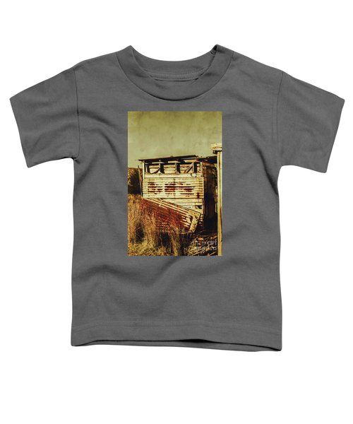 Rustic Abandonment Toddler T-Shirt