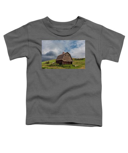 Rustic Barn Palouse Washington Toddler T-Shirt