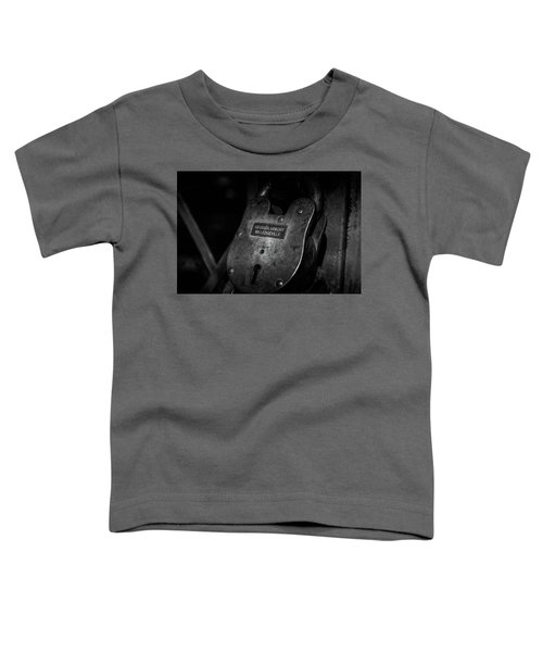Rusty Lock In Bw Toddler T-Shirt