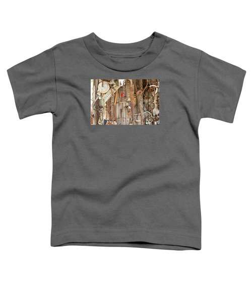 Rusty Treasures Photograph Toddler T-Shirt