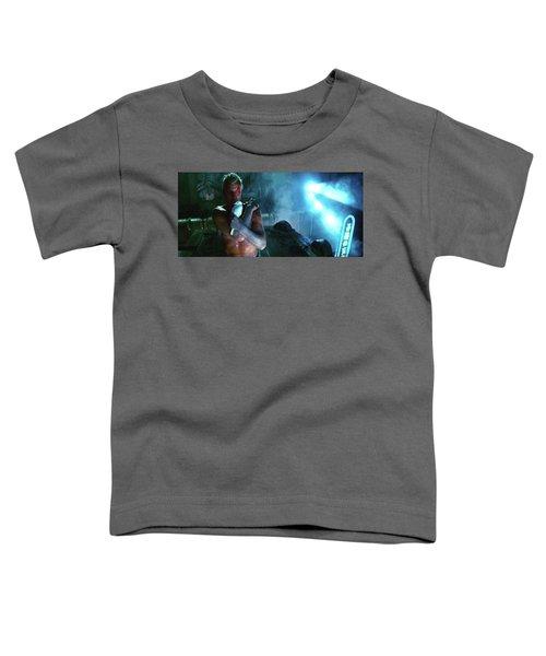 Rutger Hauer Number 2 Blade Runner Publicity Photo 1982 Color Added 2016 Toddler T-Shirt