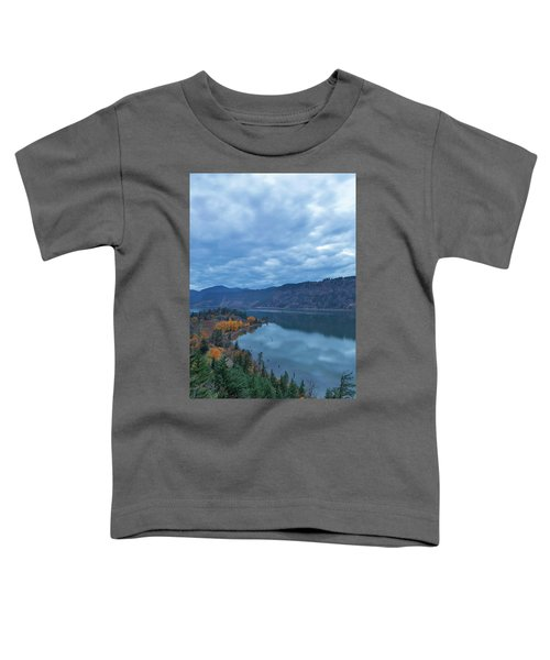 Ruthton Point During Evening Blue Hour Toddler T-Shirt