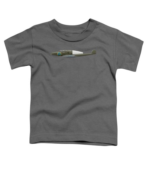 Saab J 21 R - Prototype -  Side Profile View Toddler T-Shirt