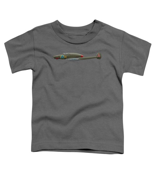 Saab J21 A - Prototype - Side Profile View Toddler T-Shirt