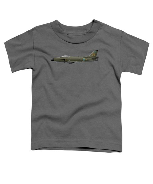 Saab J32e Lansen - 32512 - Side Profile View Toddler T-Shirt