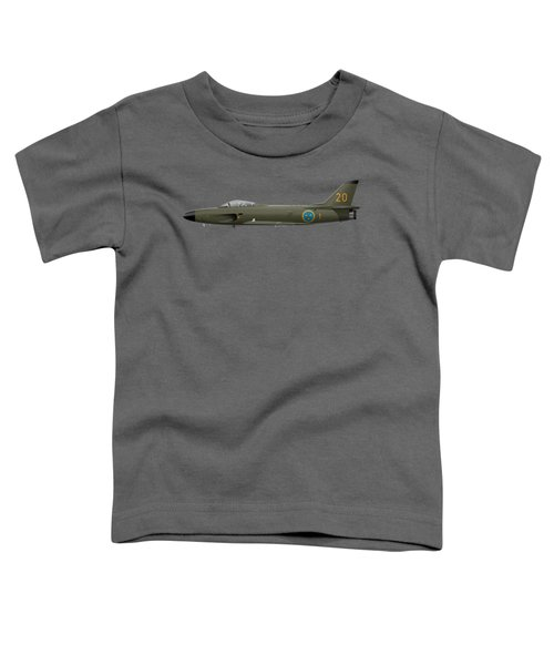 Saab J32e Lansen - 32620 - Side Profile View Toddler T-Shirt