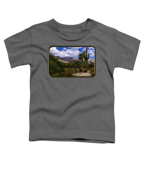 Sabino Canyon No4 Toddler T-Shirt