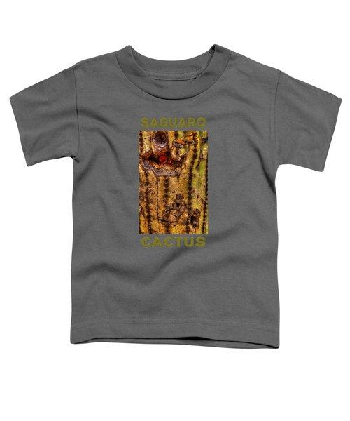 Saguaro Detail No. 18 Toddler T-Shirt