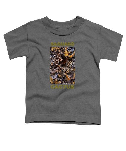Saguaro Detail No. 19 Toddler T-Shirt