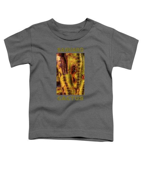 Saguaro Detail No. 24 Toddler T-Shirt