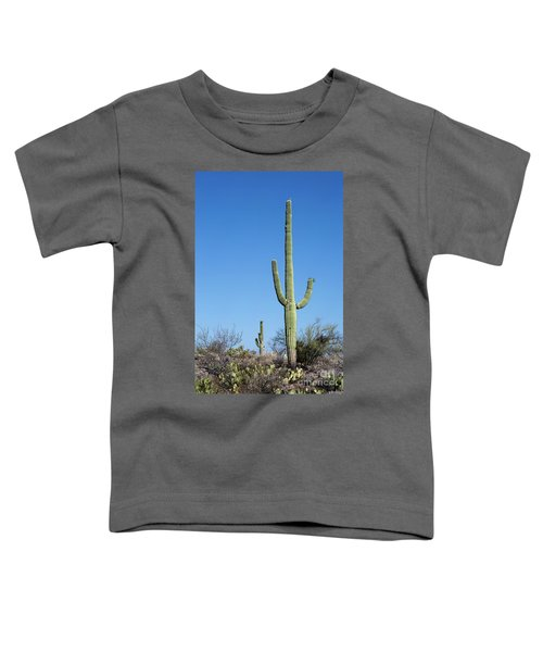Saguaro National Park Arizona Toddler T-Shirt
