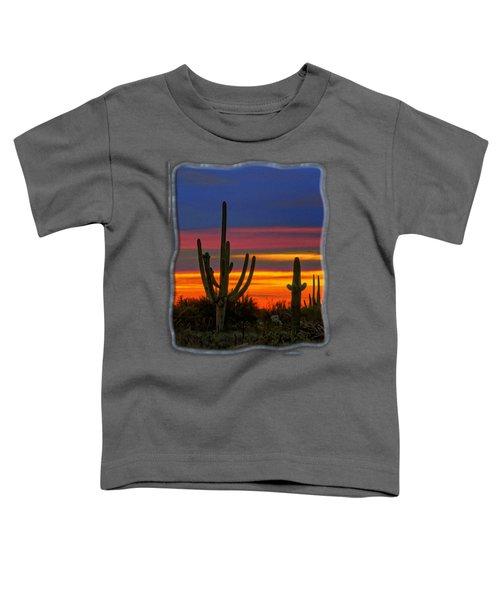 Saguaro Sunset V31 Toddler T-Shirt