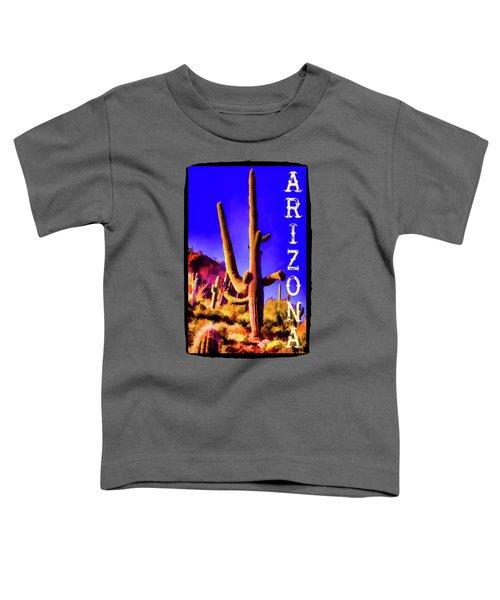 Saguaros Everywhere Toddler T-Shirt