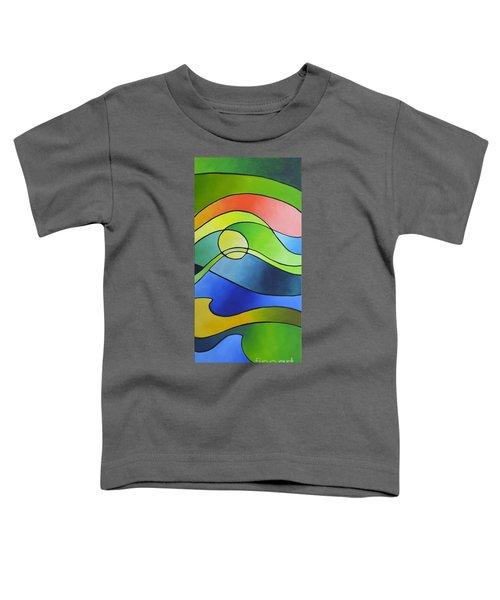 Sailing Away, Canvas Three Toddler T-Shirt