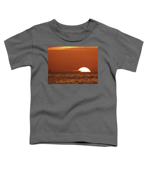 Sailing In The Sunset Toddler T-Shirt